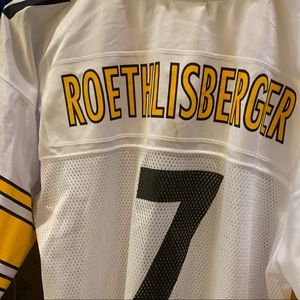 Official NFL Roethlisberger football jersey